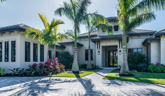 Exterior of vacation homes