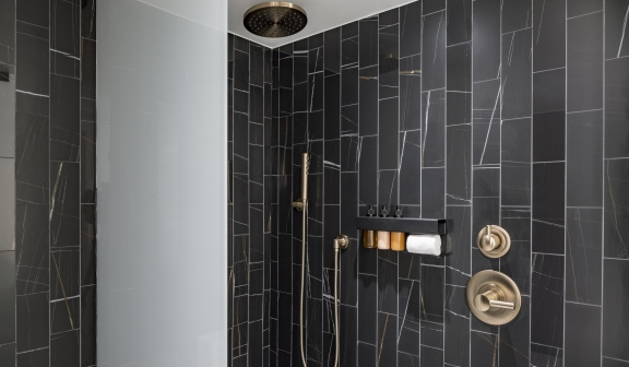 bathroom shower standard