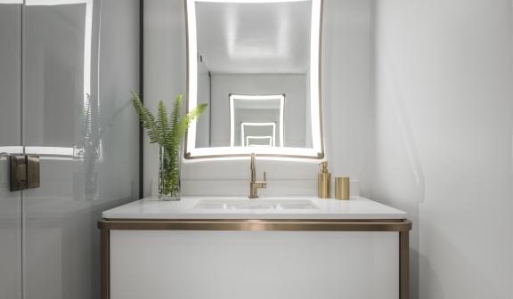 bathroom vanity standard